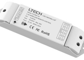 LED Wireless&Wire Driver F5-DMX-4A