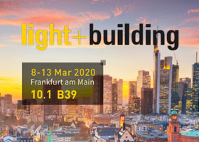2020 Frankfurt International Exhibition of lighting and building technology and equipment